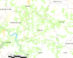 Map commune FR insee code 23101.png