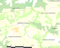 Map commune FR insee code 40039.png