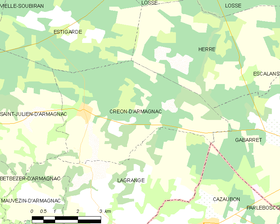 Map commune FR insee code 40087.png