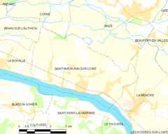 Map commune FR insee code 49307.png