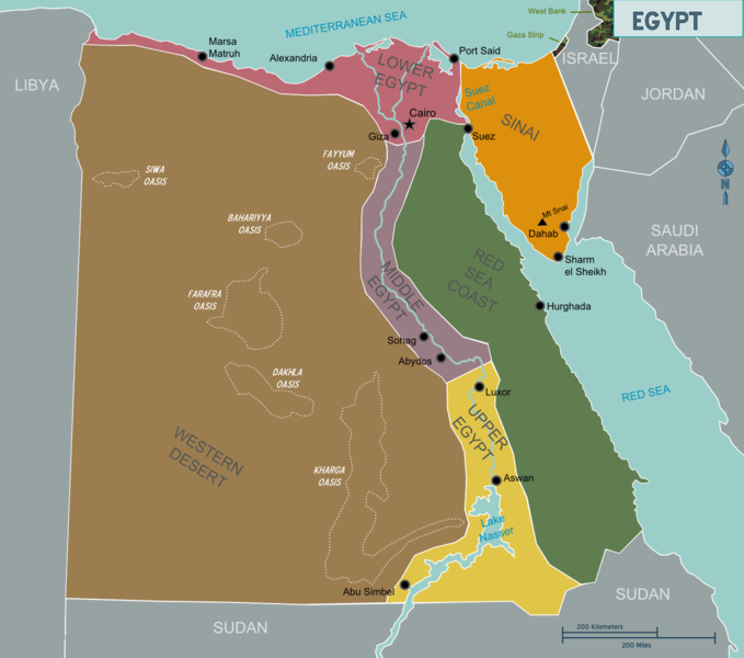Αρχείο:Map of Egypt.png