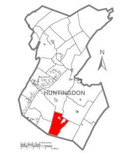 Clay Township, Huntingdon County, Pennsylvania Township in Pennsylvania, United States