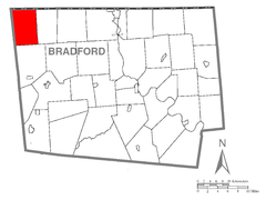 Map of Wells Township, Bradford County, Pennsylvania Highlighted.png