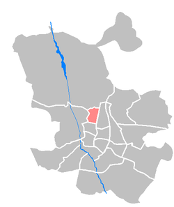 Location of Tetuán