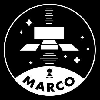 Mars Cube One - Image: Marco logo bw