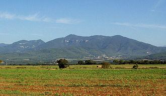 Mare de Déu del Mont - Summer view of the range