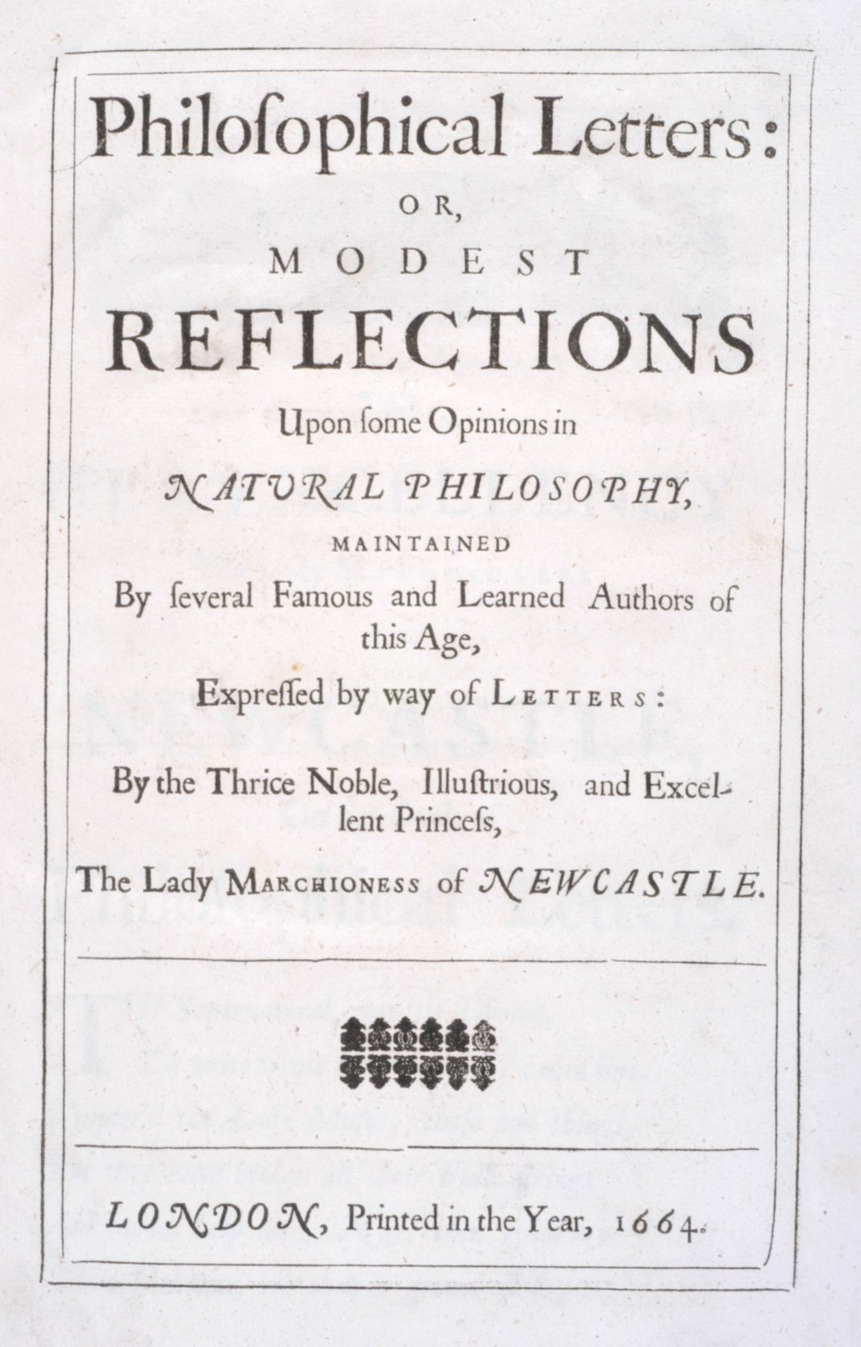 Margaret Newcastle 1664 Philosophical letters RGNb10347550.01.tp