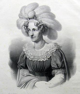 Maria Theresa of Austria (1767–1827) - Image: Maria Theresa of Austria. queen of Saxony