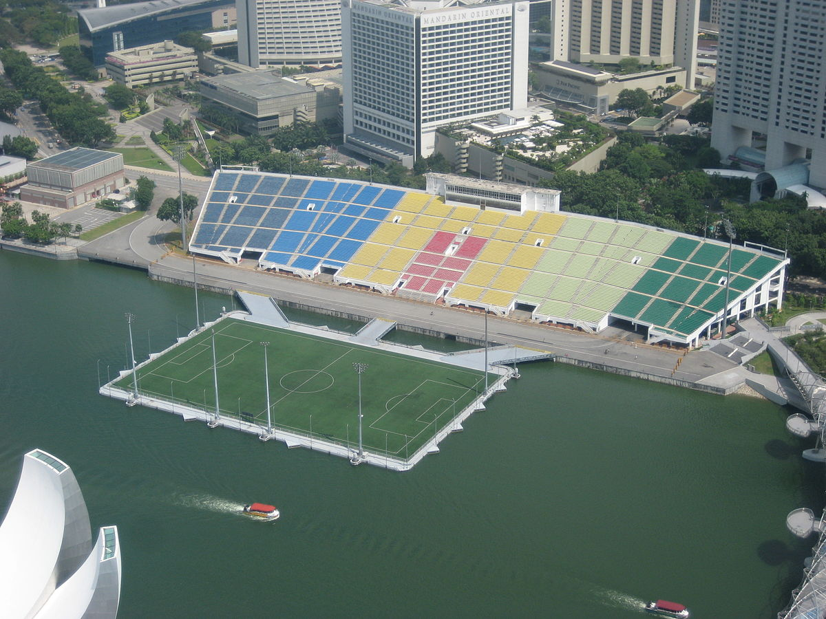 Circuito Singapur : The float at marina bay stadium wikipedia la enciclopedia libre