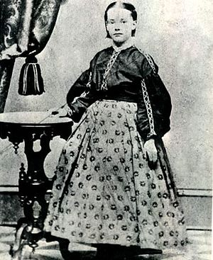 Marion Foster Welch - Welch at about the age of ten