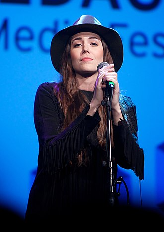 Marion Raven - Raven at the Nordic Media Festival in 2013