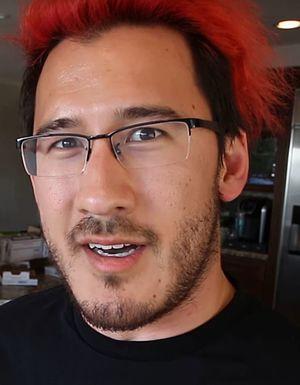 Markiplier - Markiplier appearing in a Vlogbrothers video in 2016