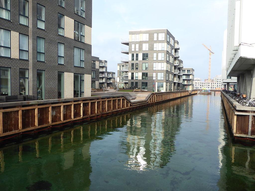 Quartier de Marmorbyen à Osterbro, Copenhague - Photo de Leif Jørgensen