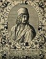 Marsilius Ficinus. Line engraving by T. de Bry, 1645. Wellcome V0001916.jpg
