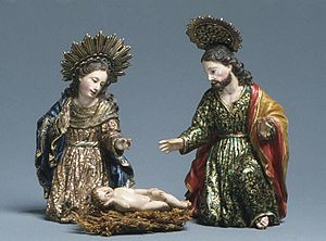 Caspicara - Image: Mary (from a nativity) MET ES2109