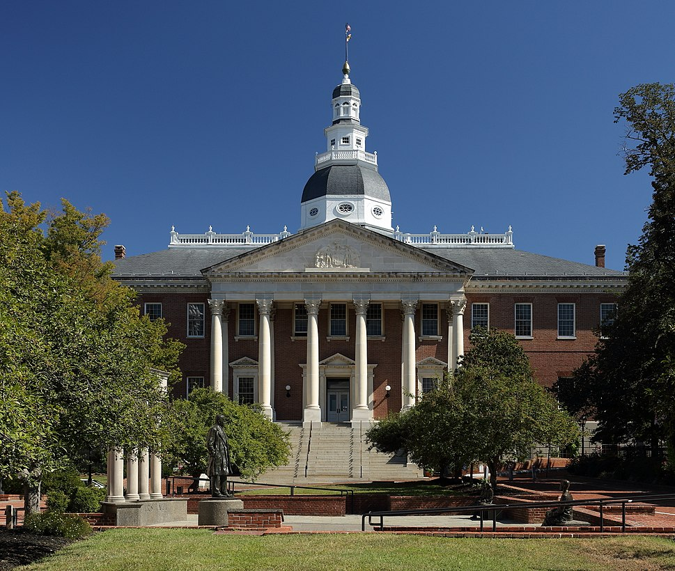 Maryland State House from College Ave