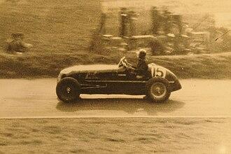 1937 Donington Grand Prix - Robin Hanson, Maserati