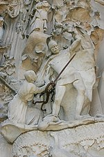 Massacre of the Innocents - Nativity Facade - Sagrada Família - Barcelona 2014.JPG