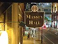 Massey Hall sign from fire escape2.jpg