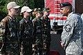 Master Sgt. Jose O. Rivera questions JROTC cadets.JPG