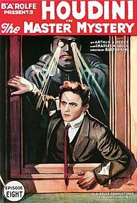 The Houdini Serial, 1919 filmplakat