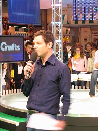 Matt Baker (presenter) - Matt Baker presenting the BBC's coverage of Crufts