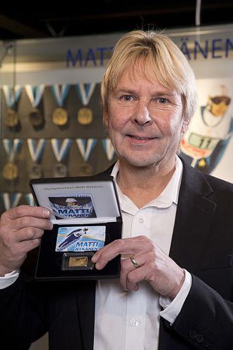 Matti Nykänen - Matti Nykänen in January 2014