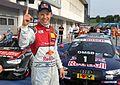 Mattias Ekström, Mattias Ekström (Red Bull Audi RS 5 DTM -5), DTM Budapest 2016, DTM Budapest 2016 (29295534744).jpg