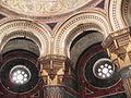 Mausoleul Filisanu, Filiasi, Dolj Capela detalii structura.JPG
