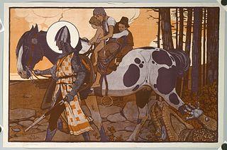 Maximilian Liebenwein Austrian-German painter, graphic designer and illustrator