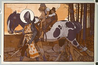 Maximilian Liebenwein - St George (without writing), 1904
