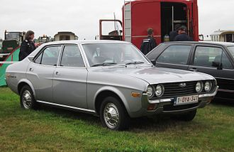 Mazda 929 - Image: Mazda 929 per European nomenclature photographed in Belgium ie Europe but aka Mazda Luce elsewhere