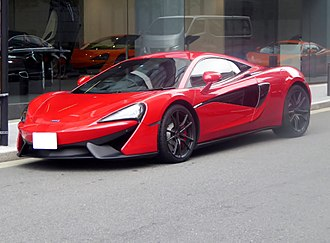McLaren 570S - McLaren 540C