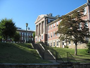 McDaniel College - a view of McDaniel College