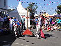 Mechanical Morris Dancers at Yarmouth Old Gaffers Festival 2011 5.JPG