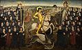 Meester van het Mechelse Sint-Jorisgilde - De leden van het gilde van de grote kruisboog te Mechelen (ca.1500) - kmska 28-02-2010 13-43-37.jpg