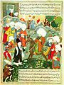 Meeting of Jalal al-Din Rumi and Molla Shams al-Din.jpg