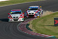 Mehdi Bennani and Tom Coronel 2013 WTCC Race of Japan (Race 2).jpg