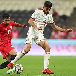 Mehdi Torabi with Iran in 2019 AFC Asian Cup.jpg