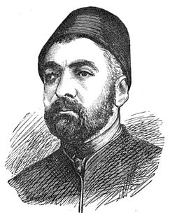 Ottoman statesman (ca. 1825–1876)