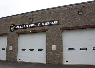 Mellen, Wisconsin - Image: Mellen Wisconsin Fire and Rescue