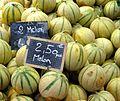 Melons, Ile de Ré market (2802386915).jpg