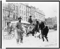 Men Loading Snow in Wagon.tif