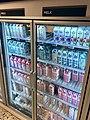 Meny supermarket Tønsberg Norway melk melkeprodukter Tine Q Styrk lettmelk i kjøleskap med glassdør glass door refrigerator chiller showcase 2017-09-20 01.jpg