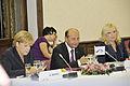 Merkel and Basescu at EPP Summit September 2010.jpg