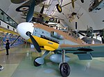 Messerschmitt Bf 109 4101 at RAF Museum London Flickr 4606788325.jpg