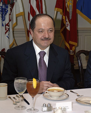 2005 in Iraq - Masoud Barzani was elected as the President of the Iraqi Kurdistan region by the Parliament of Iraqi Kurdistan.