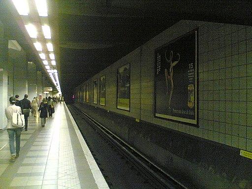 Metro 1 La Defense Grande Arche