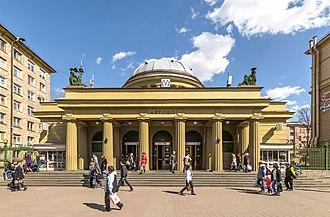 Avtovo (Saint Petersburg Metro) - Avtovo entrance vestibule