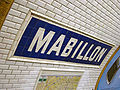 Metro de Paris - Ligne 10 - Mabillon 03.jpg